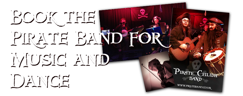 Book the Pirate Band for Your Event